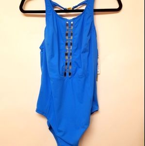Amoressa Swimsuit NWT One Piece Blue 12